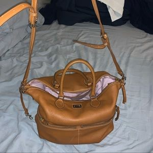 dooney and bourke purse - large tote authentic
